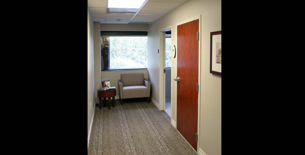Baptist Sleep Center Hallway